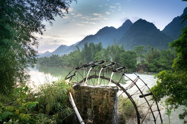 Bamboo Water Garden Fountain